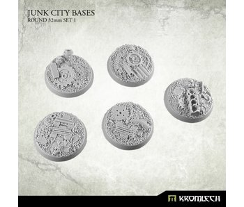 Junk City round 32mm (5) set 1