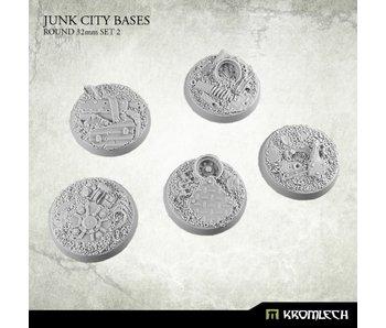 Junk City round 32mm (5) set 2