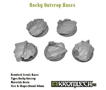 Rocky Outcrop Round 40mm (5)
