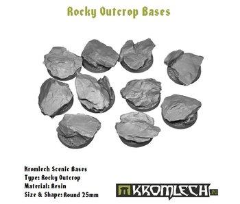 Rocky Outcrop Round 25mm (10)