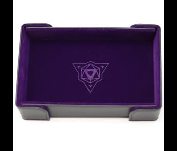 Magnetic Rectangle Tray: Purple Velvet