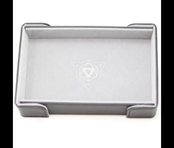 Magnetic Rectangle Tray: Gray Velvet