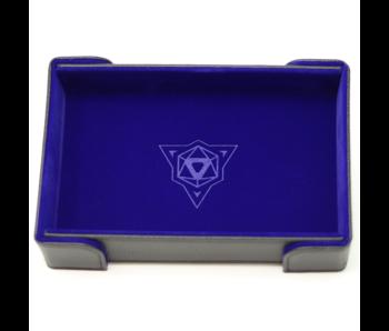 Magnetic Rectangle Tray: Blue Velvet