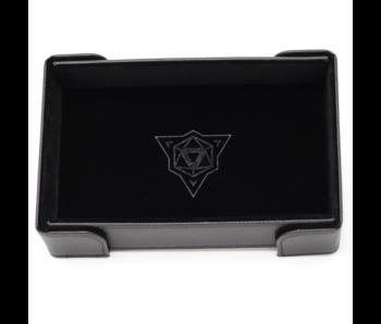 Magnetic Rectangle Tray: Black Velvet