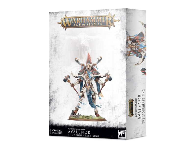 Games Workshop Avalenor The Stoneheart King