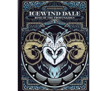 D&D - Icewind Dale Rime of the Frostmaiden (Alternate cover)