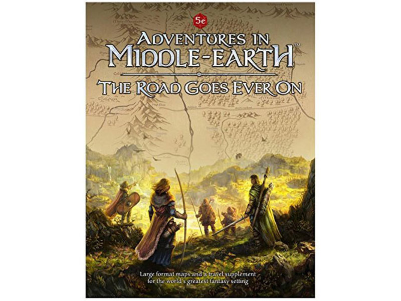 Cubicle 7 Adventures In Middle Earth: The Road Goes Ever On