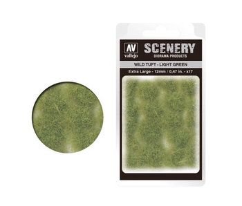 Scenery Diorama Products - Extra Large Wild Tuft Light Green (SC426)