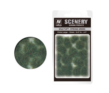 Scenery Diorama Products - Extra Large Wild Tuft Strong Green (SC427)