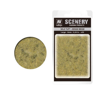 Scenery Diorama Products - Large Wild Tuft Dense Beige (SC412)