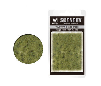 Scenery Diorama Products - Large Wild Tuft Dense Green (SC413)