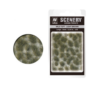Scenery Diorama Products - Large Wild Tuft Light Brown (SC418)