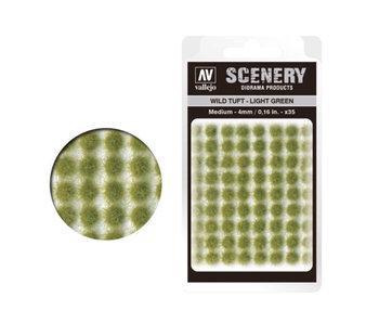 Scenery Diorama Products - Medium Wild Tuft Light Green (SC407)