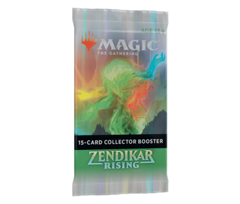 MTG Zendikar Rising collector booster pack