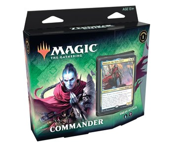 MTG Zendikar Rising Commander Decks - Sneak Attack