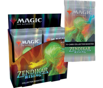 MTG Zendikar Rising Collector Booster Box