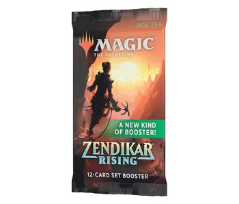 MTG Zendikar Rising Set Booster Pack