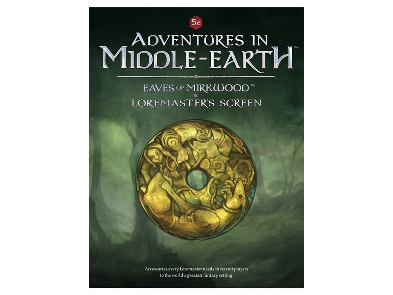 Cubicle 7 Adventures In Middle Earth: Eaves of Mirkwood & Loremaster's Screen