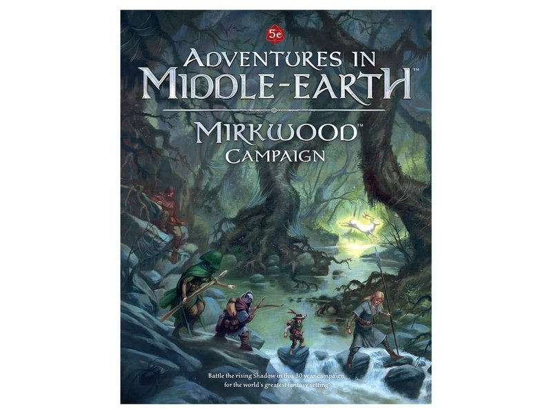 Cubicle 7 Adventures In Middle Earth: Mirkwood Campign