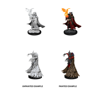Pathfinder Unpainted Minis Wv12 Cultist And Devil