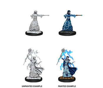 D&D Unpainted Minis Wv12 Female Elf Wizard