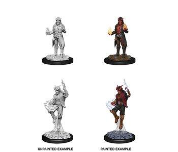 D&D Unpainted Minis Wv12 Male Tiefling Sorcerer