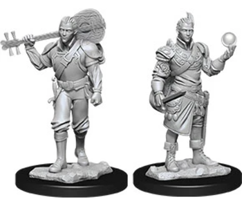 D&D Unpainted Minis Wv12 Male Half-Elf Bard