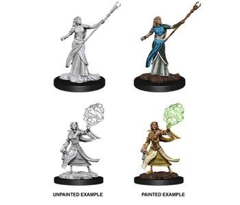 D&D Unpainted Minis Wv12 Female Elf Sorcerer