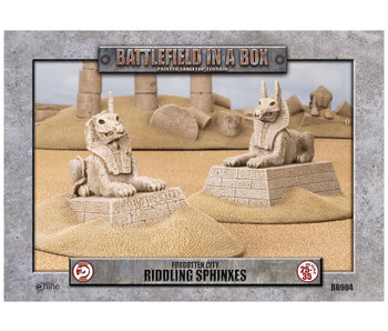 Battlefield in a Box - Forgotten City - Riddling Sphinxes