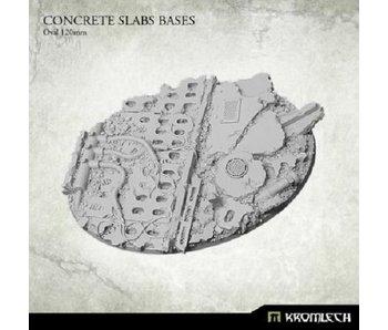 Concrete Slabs- Oval 120mm