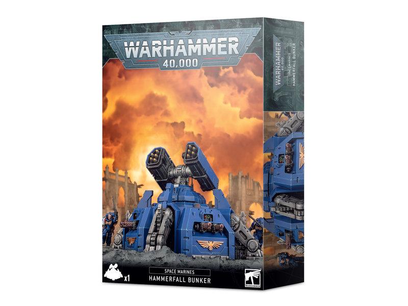 Games Workshop Space Marines Hammerfall Bunker