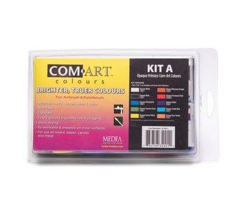 Com Art Colours Opaque Primary Kit A (81001)