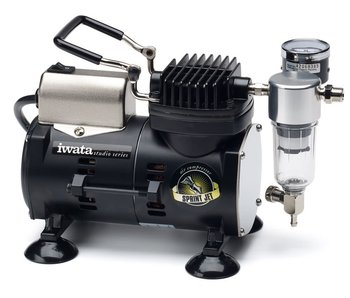 IWATA Sprint Jet 110-120V Airbrush Compressor (IWATA-IS800)