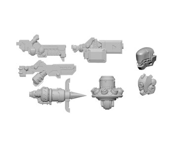 Dusk Wolf Weapon Pack - Warjack Variant (B) (PIP82014)