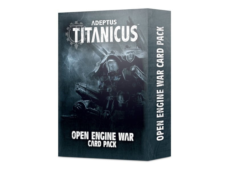 Games Workshop Adeptus Titanicus - Open Engine War Card Pack
