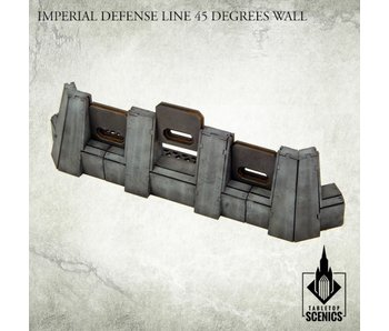 Imperial Defense Line: 45° Wall