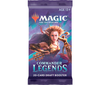 MTG Commander Legends Set Booster Pack