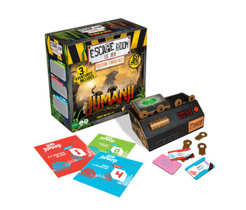 Coffret Jumanji (Édition familiale) - Escape Room