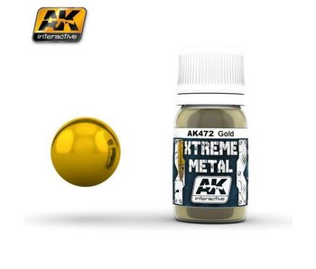 Xtreme Metal - Gold (30ml)