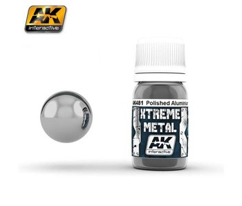 Xtreme Metal - Polished Aluminium (30ml)