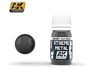 Xtreme Metal - Gun Metal (30ml)