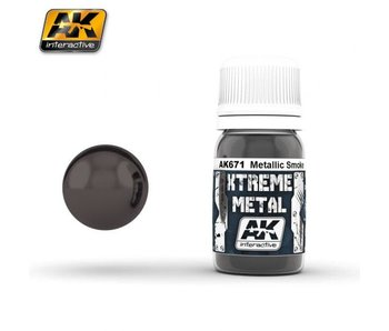 Xtreme Metal - Smoke Metallic (30ml)