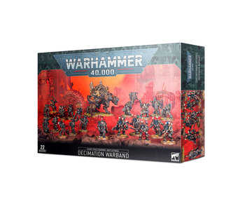 Chaos Space Marines - Decimation Warband Battleforce