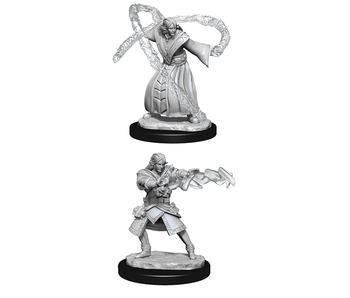 D&D Unpainted Minis Wv13 Elf Wizard Male (144)