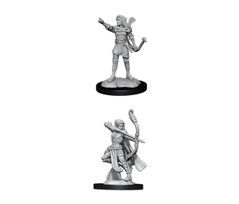 D&D Unpainted Minis Wv13 Elf Ranger Female (144)