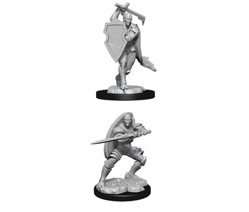 D&D Unpainted Minis Wv13 Warforged Fighter Male