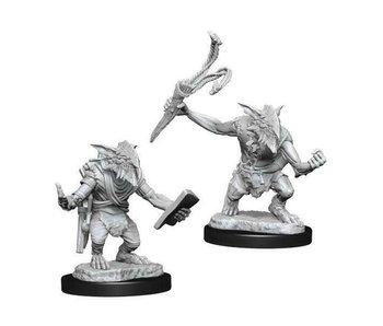 MTG Unpainted Minis Wv13 Goblin Guide/Bushwacker