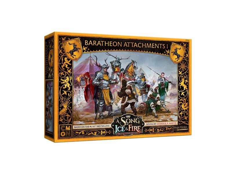 CMON A Song of Ice & Fire - Baratheon Attachments #1