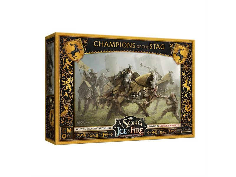 CMON A Song of Ice & Fire - Baratheon Champions of the Stag