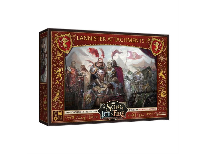 CMON A Song of Ice & Fire - Lannister- Attachments #1